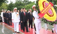Leaders pay tribute to war martyrs