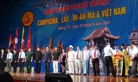 South East Asian arts festival closes in Quang Tri