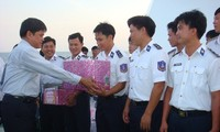 Kien Giang authorities pay New Year visit to Southwestern coastal areas