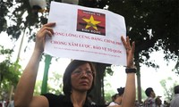 Groups continue to protest China's illegal acts