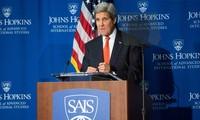 US Secretary of State John Kerry hosts first anti-Islamic State coalition meeting