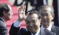 Chinese Prime Minister Li Keqiang visits the Republic of Korea