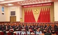 Chinese Party Central Committee's 3rd plenum wraps up