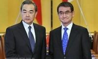 Japan, China work to improve ties