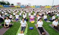 Hanoi: 1,200 people to join yoga performance