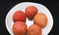 Fresh litchi served on Vietnam Airlines' flights
