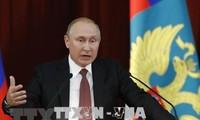 Putin warns NATO against closer ties with Ukraine, Georgia