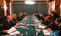 """China, Russia vow to safeguard a """"just and equitable"""" international order"""