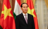 Ethiopian people welcome President Tran Dai Quang's visit
