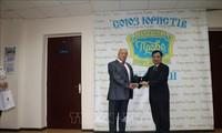 Vietnam's Ambassador to Ukraine honored by World Jurist Alliance