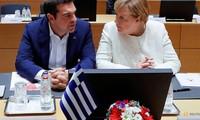 German Chancellor Angela Merkel visits Greece