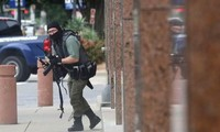 Gunman killed in shootout after opening fire on Dallas Federal Courthouse