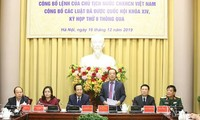 Presidential Office announces new laws
