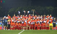 Bonuses awarded to Vietnam's women's football team for SEA Games victory