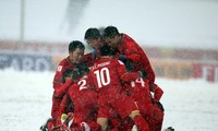 Quang Hai's goal in snow voted most iconic strike at AFC U23 Champs