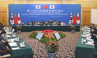 China, Japan, and South Korea to promote free trade negotiation