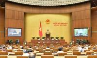 Several draft laws debated at NA