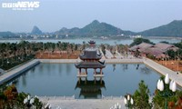 Largest Vietnamese pagoda remains quiet at start of new lunar year