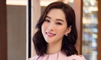 """Nhan sắc xinh đẹp """"vạn người mê"""" của Hoa hậu Đặng Thu Thảo ở tuổi 30"""