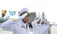 Vietnamese Navy Gepard frigates join military parade in Russia