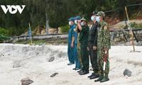 Lính biên phòng Hà Tiên: Chặn COVID đến cột mốc cuối cùng trên biên giới Campuchia