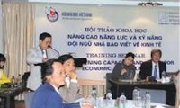 Seminar on the role of the media during a sustainable economic development