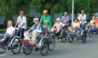 The number of visitors to Ho Chi Minh city soars