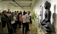 Buddhist exhibition on Buddha's life and teachings
