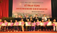 """Vice President attends ceremony to honor """"heroic Vietnamese mother"""" in Hung Yen"""