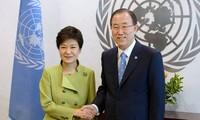 S.Korea asks UN chief for assistance to inter-Korean dialogue