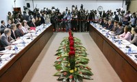 Cuba and the US  pleased with first negotiations