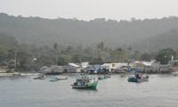 Tho Chu island before Tet