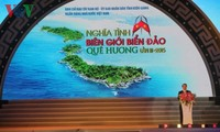 Art performance on homeland's sea and islands in Kien Giang province