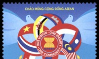"""Stamp collection """"Welcoming ASEAN Community"""" issued"""