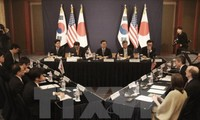 Japan, South Korea, US to push for new sanctions against North Korea