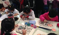 """Program """"Explore and create Tet paintings with children"""""""
