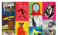 Exhibition of Monkey paintings to welcome New Year 2016