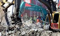 Taiwan quake death toll at 116, search ends