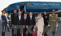 President Truong Tan Sang starts State visit to Iran