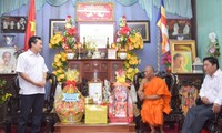 Steering committee for southwestern region congratulates the Khmer on Chol Chnam Thmay festival