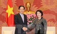 NA Chairwoman meets Chinese and Australian Ambassadors