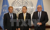 UN, EU leaders discuss on peace, security issues