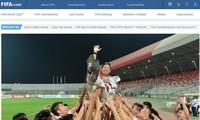 FIFA lauds Vietnam's football achievements