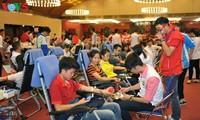 Blood donation festival opens in Hanoi
