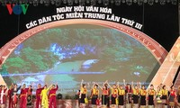 Festival spotlights central region's ethnic group culture