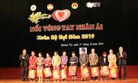 Community helps poor people enjoy happy Tet