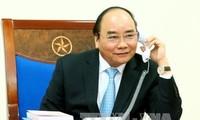 PM encourages Vietnam football team ahead of AFC Asian Cup quarterfinal match