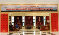 Exhibition spotlights Truc Lam Zen Buddhist sect