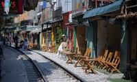 Unique railway café in Hanoi
