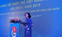 Vietnamese young intellectuals work toward national sustainable development